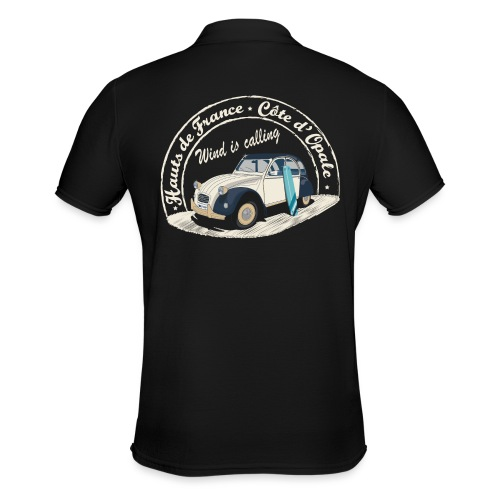 2CV - Wind is calling ( Le vent m'appelle!) - Polo Homme
