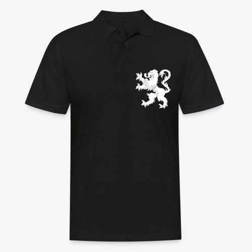 Blason Lions de Guerre Noir - Polo Homme