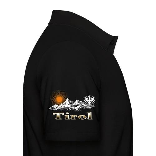 Tiroler Berge - Männer Poloshirt
