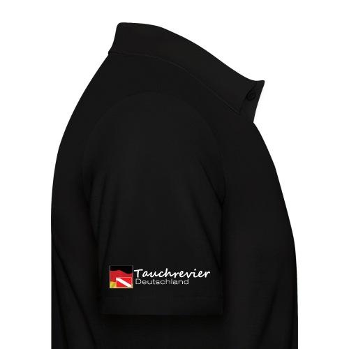 Tauchrevier Deutschland Logo classic weiß - Männer Poloshirt