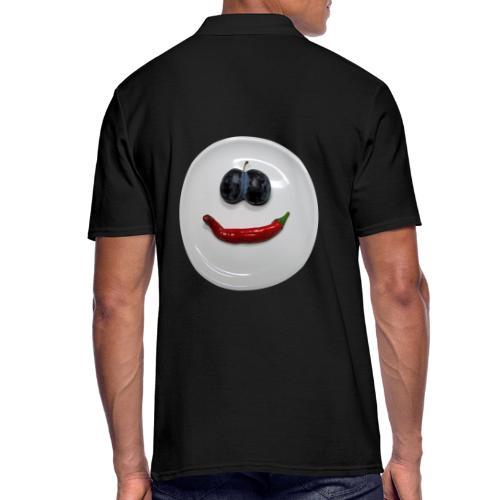 TIAN GREEN - Hot Smile - Männer Poloshirt