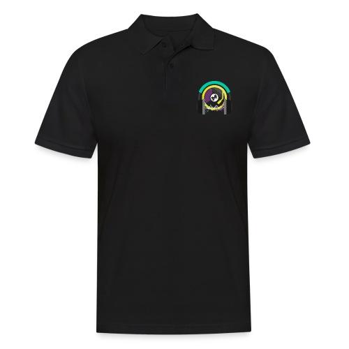 new circle snipped groß png - Männer Poloshirt