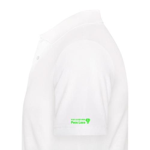 poco loco creations green - Men's Polo Shirt