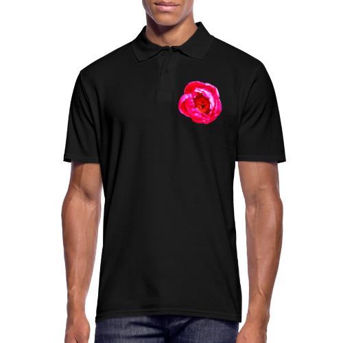TIAN GREEN Garten - Pfingstrose 2020 01 - Männer Poloshirt