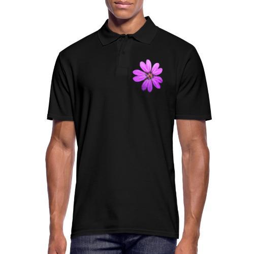 TIAN GREEN Garten - Storchschnabel 2020 01 - Männer Poloshirt