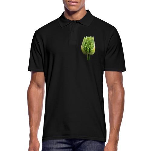TIAN GREEN Garten - Lauchblütenknospe 2020 01 - Männer Poloshirt