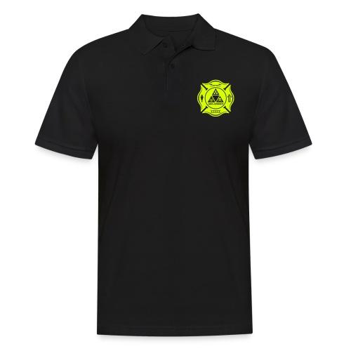 Feuerwehr ABC Einheit - Brust- Rücken- Ärmeldruck - Männer Poloshirt