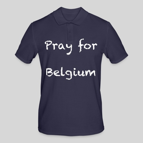 Pray for Belgium - Polo Homme