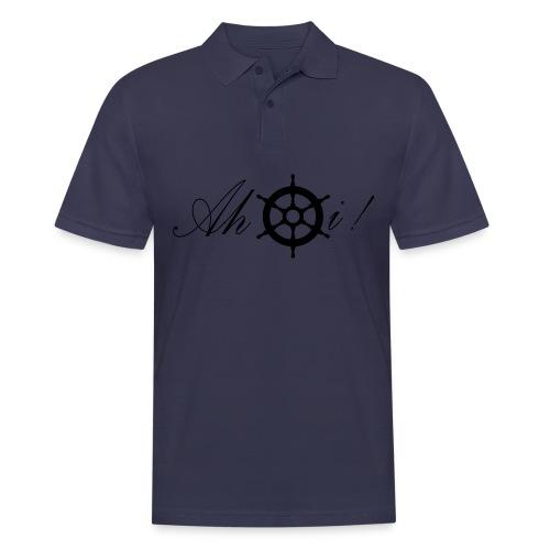 Ahoi - Männer Poloshirt