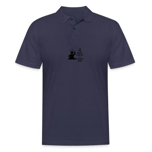 keep calm and listen edm - Men's Polo Shirt