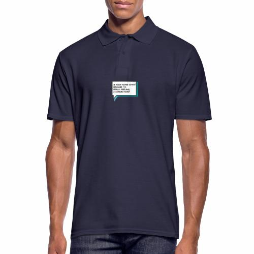 Is your name wi fi - Men's Polo Shirt