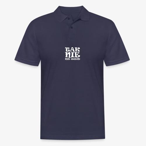 Tak - Nie - Nie wiem - Koszulka polo męska