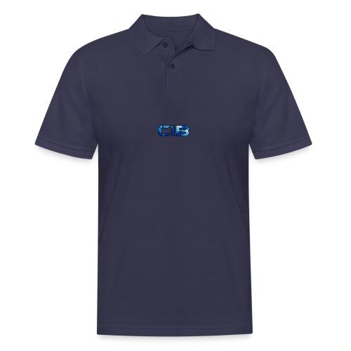 CuzImBacon blå farget logo - Poloskjorte for menn
