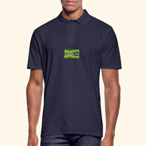 einfach nur gras2 - Männer Poloshirt