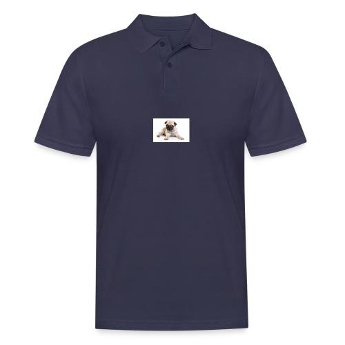 mopshond afdruk/print - Mannen poloshirt