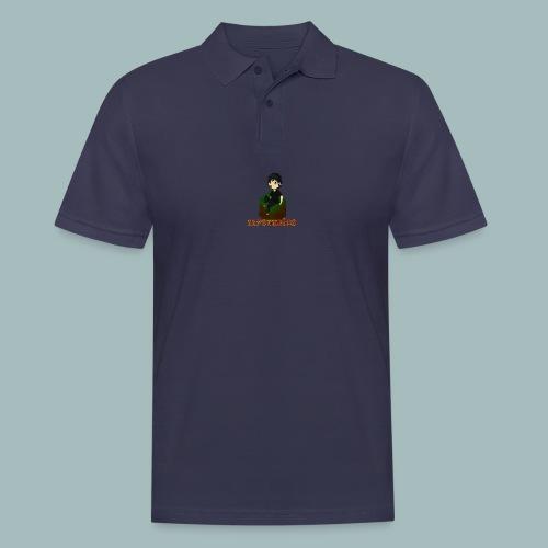 Mystudios Ansteck Button - Männer Poloshirt