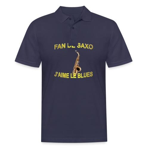 Tee-Shirt pour les fans de blues, et de saxo. - Polo Homme