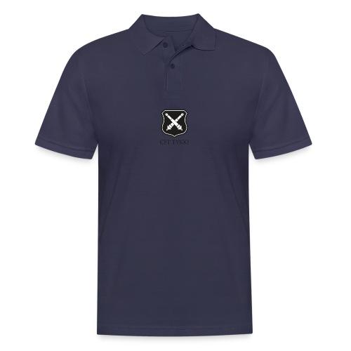Tykki logo musta - Miesten pikeepaita