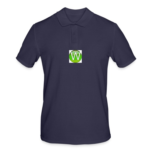 Alternate W1ll logo - Men's Polo Shirt