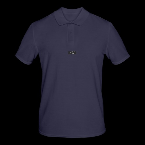 AV White - Men's Polo Shirt