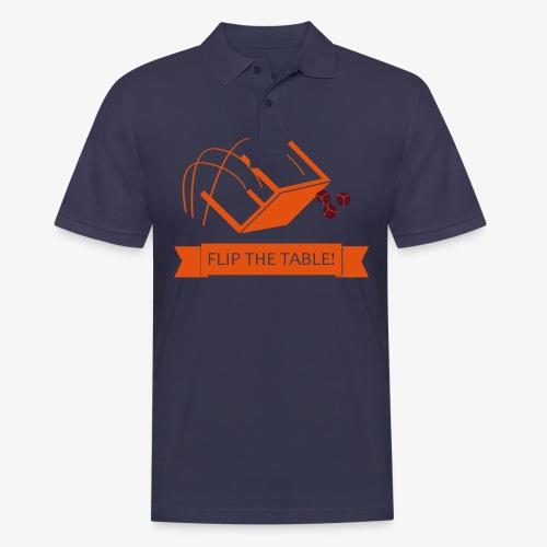 Flip the table! - Poloskjorte for menn