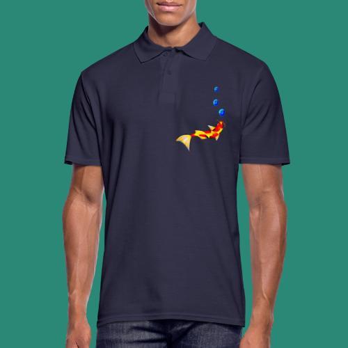 der Fisch - Männer Poloshirt