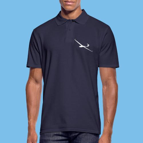 Segelflugzeug gleiten Segelflieger pilot Flugzeug - Männer Poloshirt