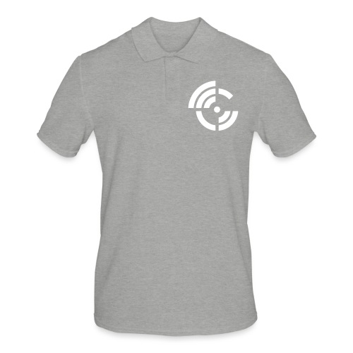 electroradio.fm logo - Men's Polo Shirt
