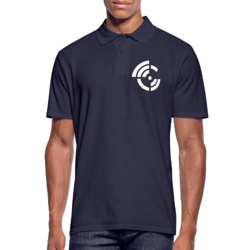 electroradio.fm logo - Men's Polo Shirt