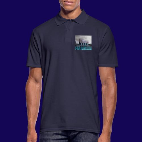 Elbphilharmonie | HAMBURG-Typo| Künstlermotiv - Männer Poloshirt