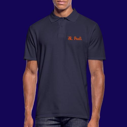 St. Pauli Logotype: Dein Kieztour Begleiter - Männer Poloshirt