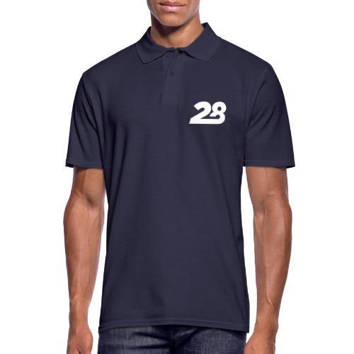 28 White - Men's Polo Shirt