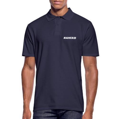 ahcr28 White - Men's Polo Shirt