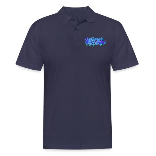 Graffiti   BLUE - Men's Polo Shirt