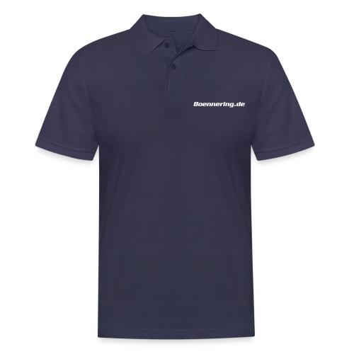 boenne o outline - Männer Poloshirt