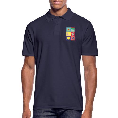 Ostfriesland Wappen - Minimalistisch - Männer Poloshirt