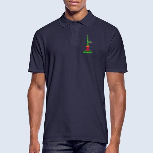 Funkturm Berlin PopArt ickeshop BachBilder - Männer Poloshirt