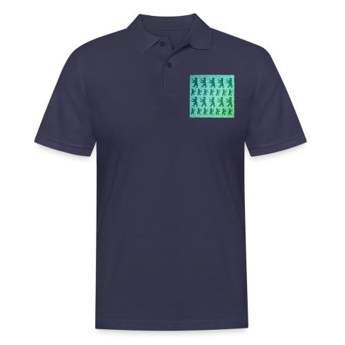 berlin baer pattern - Männer Poloshirt