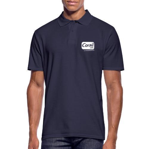 Logo blanc - Polo Homme