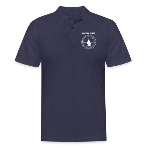 Neckarstadt – Blog seit 2014 (Logo hell) - Männer Poloshirt