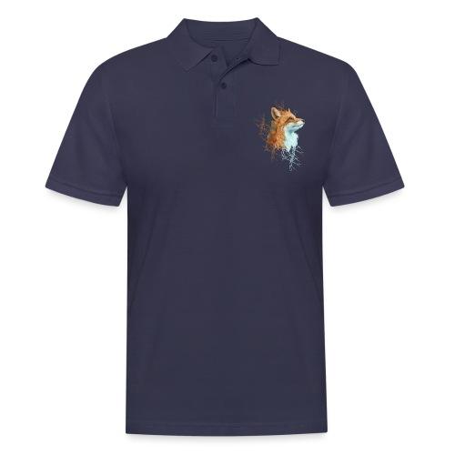 Happy the Fox - Männer Poloshirt