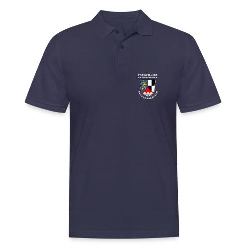 Logo_adf_weiss - Männer Poloshirt
