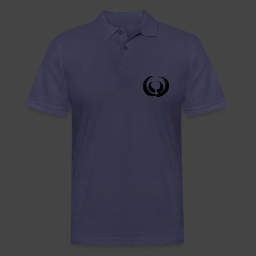 Marker Gewaff Schwarz - Männer Poloshirt