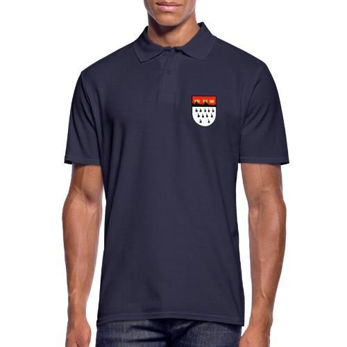 Köln Wappen Modern - Männer Poloshirt