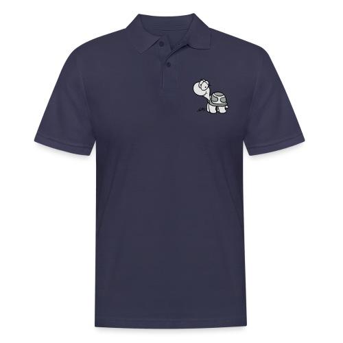 Schildkroete Schnitt - Männer Poloshirt