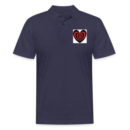 Hypno Herz - Männer Poloshirt