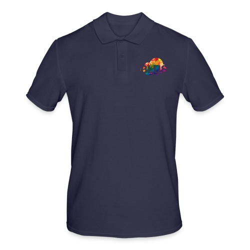 BURNER Logo - Men's Polo Shirt