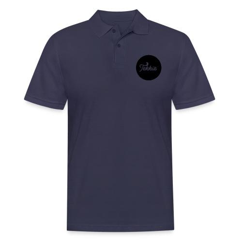 Tekkie Black Logo - Mannen poloshirt