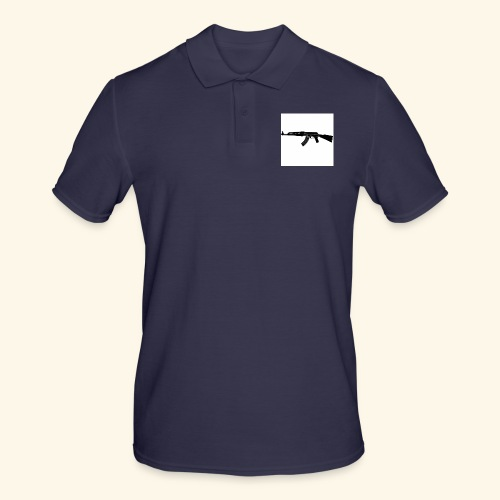 AK 47 Tee - Only White - Polo da uomo