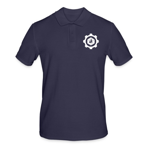 Jebus Adventures Cog White - Men's Polo Shirt